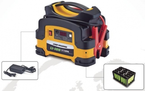 China Li-ion Jump Starter (Model: CPT-JS500-01)
