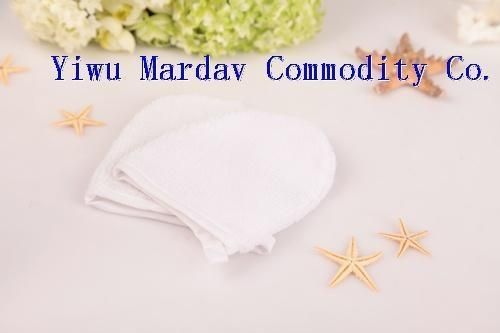 Quality Microfiber Cosmetic Glove/Facial Mitt for sale