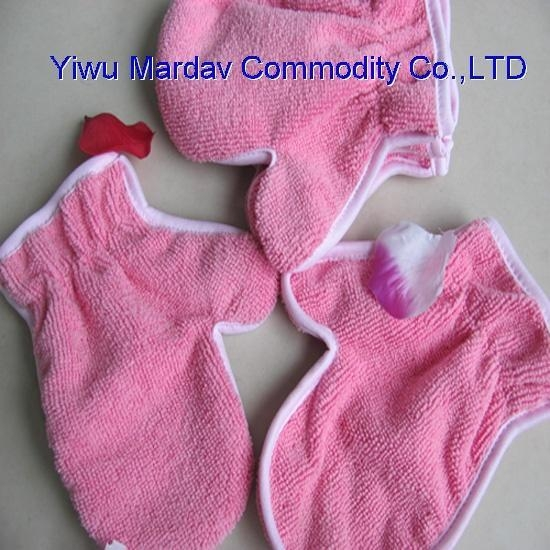 Quality Microfiber Cleaning Glove/Facial Glove for sale
