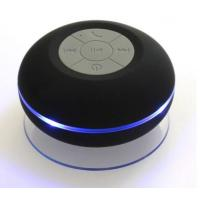 China Waterproof Bluetooth 3.0 Mini Audio Bluetooth Shower Speaker With LED Light JS-108L on sale