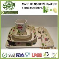 Christmas's series bamboo fibre resturant and home dinner set Manufactures