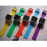 silicone led bracelet watches for children Manufactures
