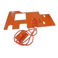 Custom Silicone Rubber Hot Pad 12V Manufacturer Manufactures