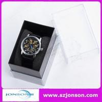 Genuine leather strap cheap automatic watches for men with your brand