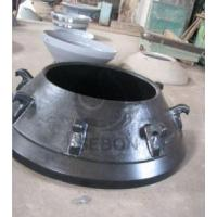 High manganese steel cone crusher mantle price Manufactures