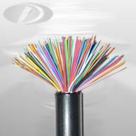 communication cable HYA solid insulated non-filled communication cable Manufactures