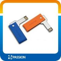 Buy cheap USB FLASH DRIVE Swivel Key USB With Leather Cases from wholesalers