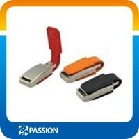 Buy cheap USB FLASH DRIVE leather Thumb Drive, Cooperate Gift Leather USB from wholesalers