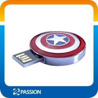 Buy cheap USB FLASH DRIVE Hot sale Captain America USB pendrive 4GB,8GB 16GB from wholesalers