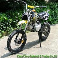 Yellow Super Motocross Kick Start 125CC Dirt Bike Pit Bike with Chain Driving Manufactures