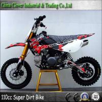 Off road Sport type 110cc Powerful Dirt Bike 125cc Pit Bike with CE certificate Manufactures