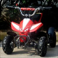 Buy cheap Hot Selling Mini 49CC Foul Wheel Quad Bike ATV 49cc with LED Head Lights from wholesalers