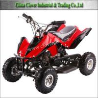 China Petrol Powered Air Cooled 49CC ATV Quad Bike with Emergency Stop on sale