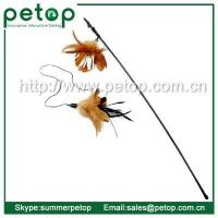 Pet Toys Fully Extandable Cat Feather Wand Wholesale