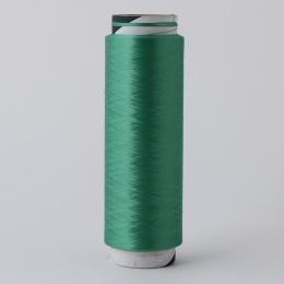 Quality Eco-Friendly Polyester DTY Fancy Green Yarn for sale