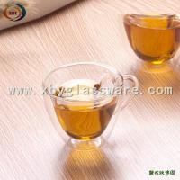China Glass Double Wall Thermos Cup on sale