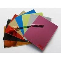 Acrylic Sheet Series Products High quality colored acrylic plate/ sheet Manufactures