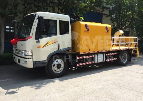 Quality Concrete Pump HDT5120THB truck-mounted concrete pump for sale