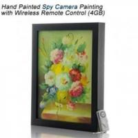 Free shipping Hand Painted Spy Camera Wireless Remote Control