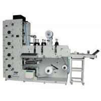 China ZBS-320/320G Label(logo)Flexo Printing Machine With Three Die-cutting Stations on sale
