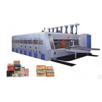 High speed automatic printing slotting and die cutting machine
