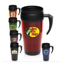 China 14 Oz. Basic Double Insulated Imprinted Plastic Travel Mugs on sale