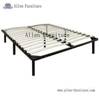 China Wood slat bed frame 7 legs on sale