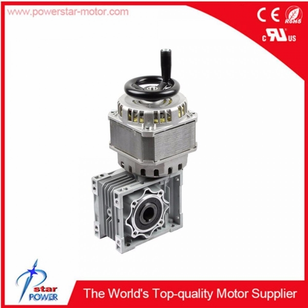 Gear reduction motor for road barrier and garage door for for Garage door motors for sale