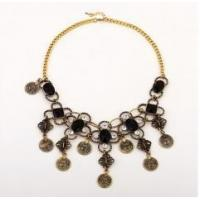 Buy cheap Crazy hot necklace vintage alloy flower necklace fashion jewelry for women from wholesalers