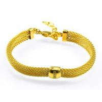 BY- BW206 custom design high quality jewelry stainless steel mesh bracelet Manufactures