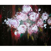 China Impressional flower paintings 17 decorative paint on sale