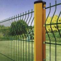 Powder coated welded wire fence Manufactures