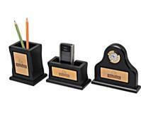 Pen Stand, V.Card/Mobile Stand Clock