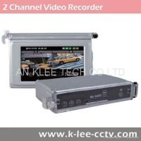 2ch Motorcycle Camera System with 3 inch LCD Monitor GPS