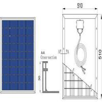 17.4V Poly Solar Panel Manufactures