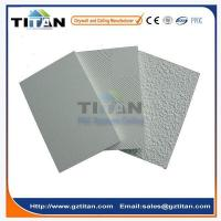 China Low Price New Design Laminated PVC Gypsum Ceiling Tiles 600x600 on sale
