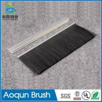 China Hot sale door bottom brush,bottom door seal brush strip,aluminum door seal brush on sale