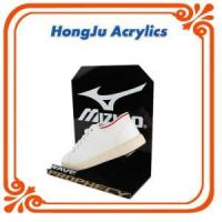 acrylic shoe display case in shop Manufactures