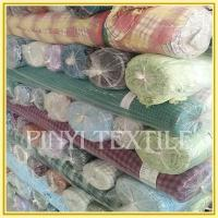 Buy cheap Fabric Supplier High standard Fashion cotton double check fabric stocklot from wholesalers