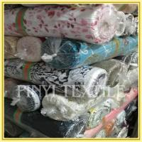 Buy cheap Shaoxing Supplier High standard Customized cotton print fabric stocklot from wholesalers