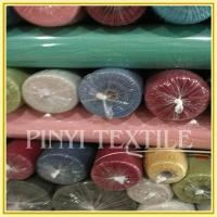 Buy cheap Shaoxing Supplier Amazing quality Soft cotton dyed stocklot fabric in china from wholesalers