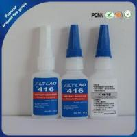 China Fast Drying Clear High Temp Cyanoacrylate Super Glue for Rubber , 416 50g on sale