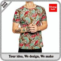sublimation t shirt printing for man Manufactures