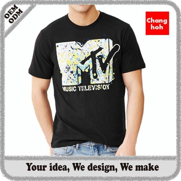 Custom Cheap T Shirt Printing For Sale Of Chhgarment
