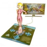 China DDR Game 16-Bit Graphics TV Plug & Play Single Player Dance Pad with 15 Songs on sale