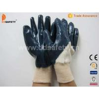 Cotton with blue nitrile glove-DCN306 Manufactures