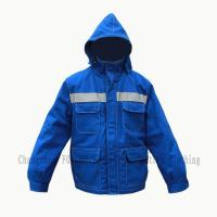 Heavy Duty Flame Retardant Coat with Hood Manufactures