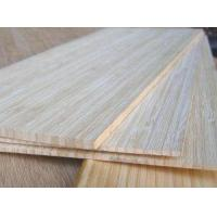 Vertical Natural Bamboo Panel 1-Ply Manufactures