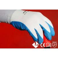 48-NL223 48-NL222 18G Nylon knitting gloves with water-based PU coated on palm Manufactures