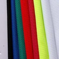 Good quality knitting polyester t-shirt mesh fabric Manufactures